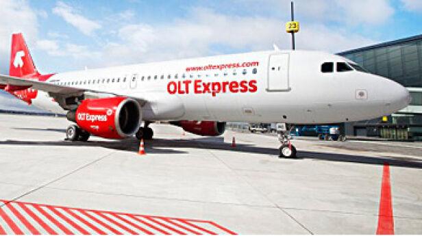 Airbus A320 materiały prasowe OLT Express