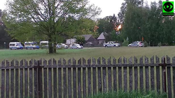 Mężczyzna został zatrzymany po pościgu policyjnym  Piotr/Kontakt24
