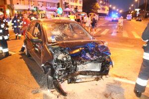 Wieczorny wypadek na Puławskiej: 5 osób rannych, 3 rozbite auta