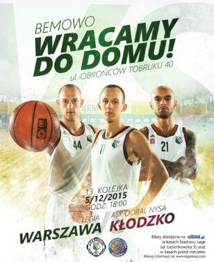 W sobotę o godz. 18 koszykarze zagrają pierwszy mecz na wyremontowanej hali materiały prasowe