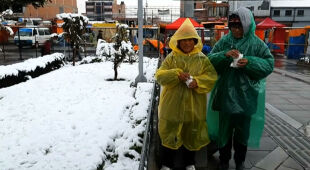 W Boliwii spadł śnieg
