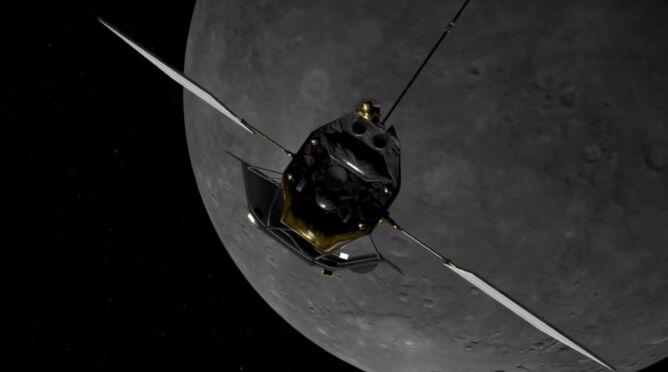 """Stało się. Messenger zakończył swój """"żywot"""". <br />Roztrzaskał się o Merkurego"""