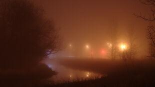 IMGW ostrzega przed gęstą mgłą. Żółte alarmy w części kraju
