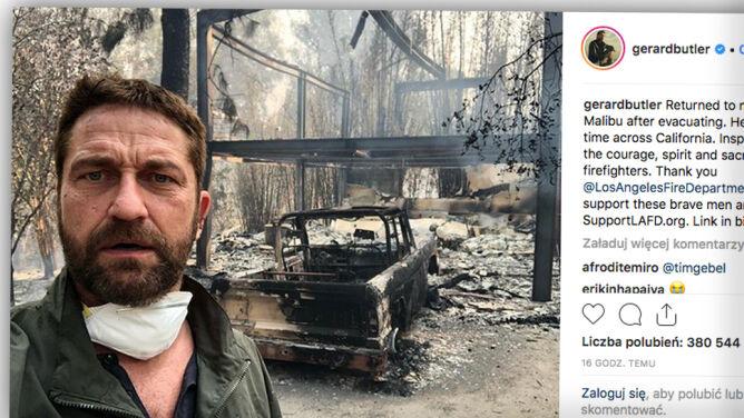 """Spłonął plan serialu """"Westworld"""", w ogniu rezydencje celebrytów. """"Pozostaje dar życia"""""""