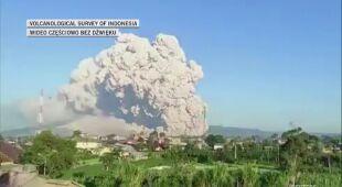 Pierwsza taka erupcja od sierpnia 2020 roku