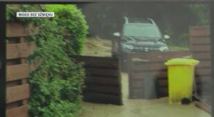 Skutki obfitych opadów deszczu w Belgii