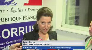 Trzy przypadki koronawirusa potwierdzono we Francji